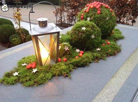 Christmas garden table
