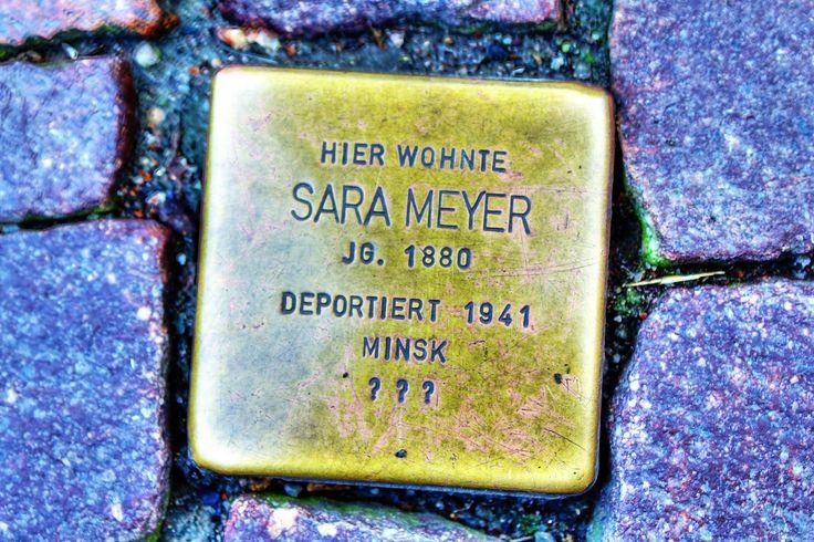 Sara Meyer • Schildstraße 14 • Stolperstein in Osterode am Harz ...