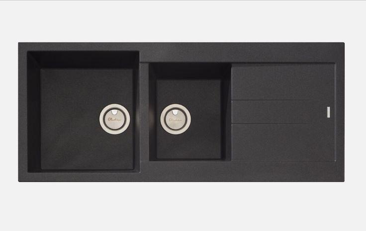 Oliveri Santorini ST-BL1510 Granite Kitchen Sink