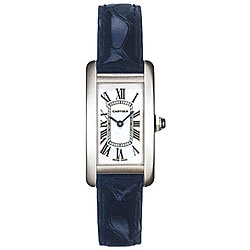 Cartier Tank Americaine. If you have a spare £6k to spend on a watch.