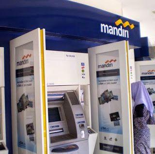 Cara Beli Pulsa Lewat ATM Mandiri