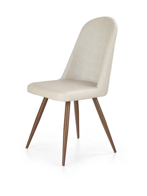 Krzesło K214 czereśnia antyczna III/ciemny krem