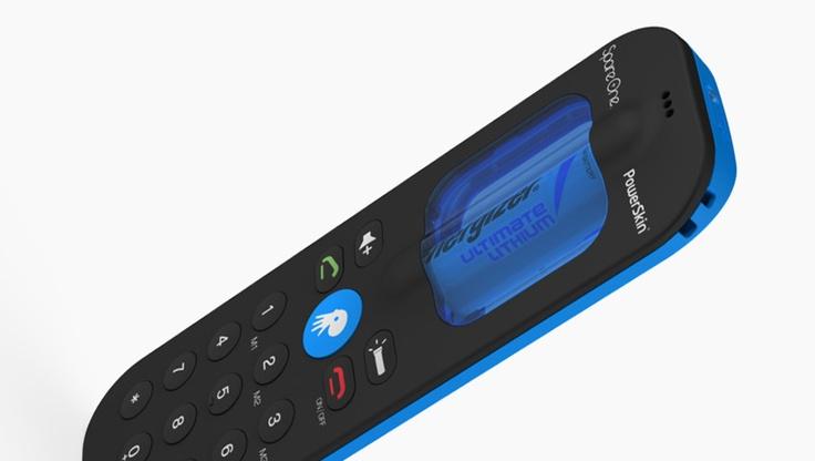 SpareOne - backup phone runs on 1 AA battery