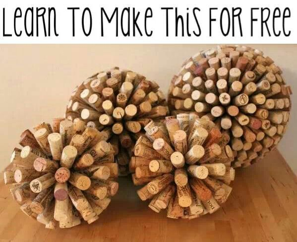 if youu0027re looking for things to make with wine bottles and corks check out these wine cork balls