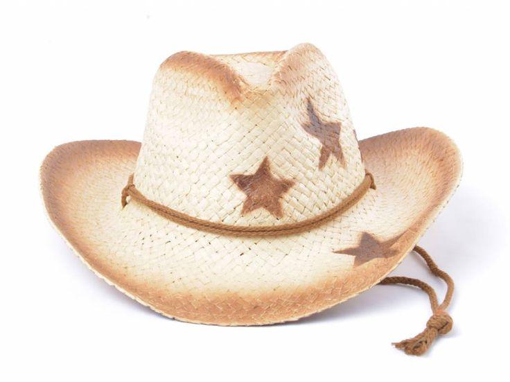 Ibiza cowboy hoed met leuke ster! Heerlijk als het zonnetje schijnt of op het strand, leuk bij een bikini of badpak. Staat ook leuk bij eensimpel bloesje of shirt. Door het materiaal is het niet warm of zwaarop je hoofd. Leukte combineren metrieten tas met ster of een andere tas. Ook leukvoor als Toppers outfit!