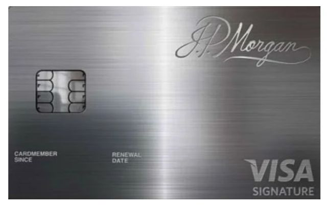 Chase And Jp Morgan Palladium Visa Card Credit Card Design Miles Credit Card Credit Card Transfer