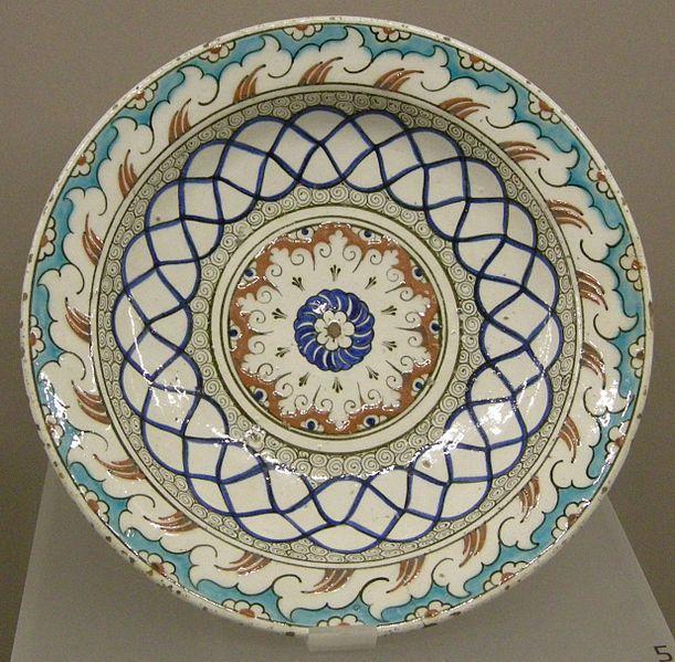 İznik ,plate ca1550