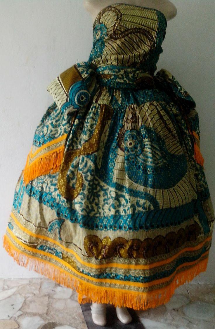 Atelier Rainha dos Panos Moda Afro: Roupa de orixá- Estilo Religioso