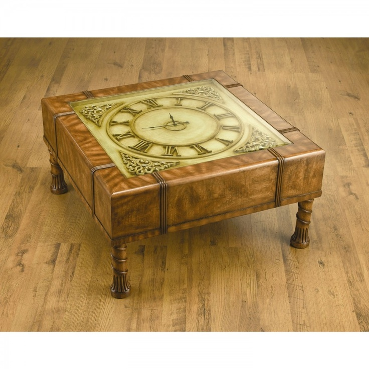 1000 images about coffee table clock on pinterest clock table coffee and tables Coffee table with clock