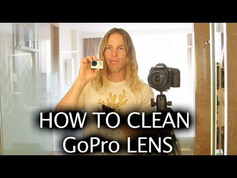 ▶ Tip #193 GoPro - How to clean the lens - YouTube