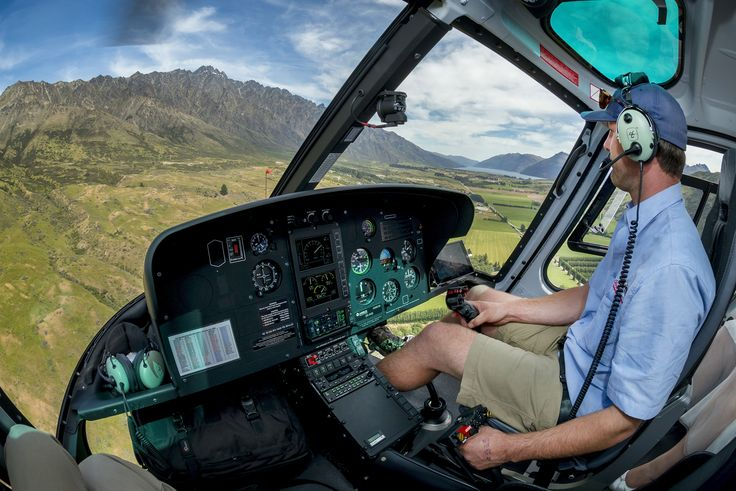 What an office! Luke flying around Queenstown, New Zealand. Photo credit: Rich Bayley Photography