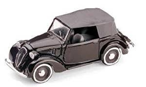 FIAT 1100 (508C) SOFT TOP 1937-39 1:43 Brumm Auto d'Epoca