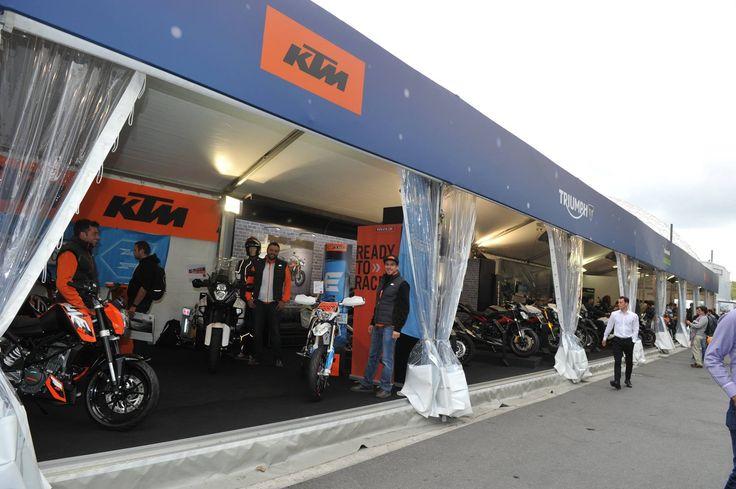 Stand KTM #MondialAuto