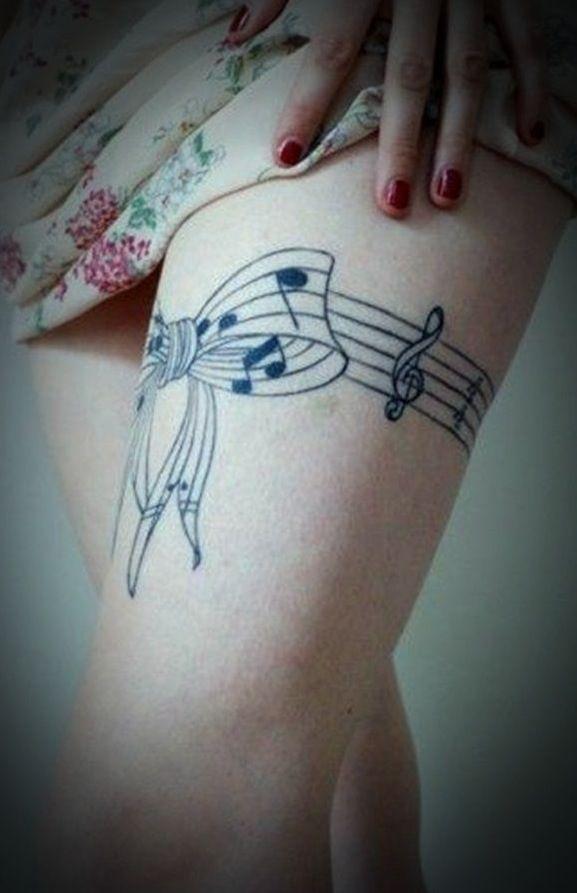 Music tattoo :)