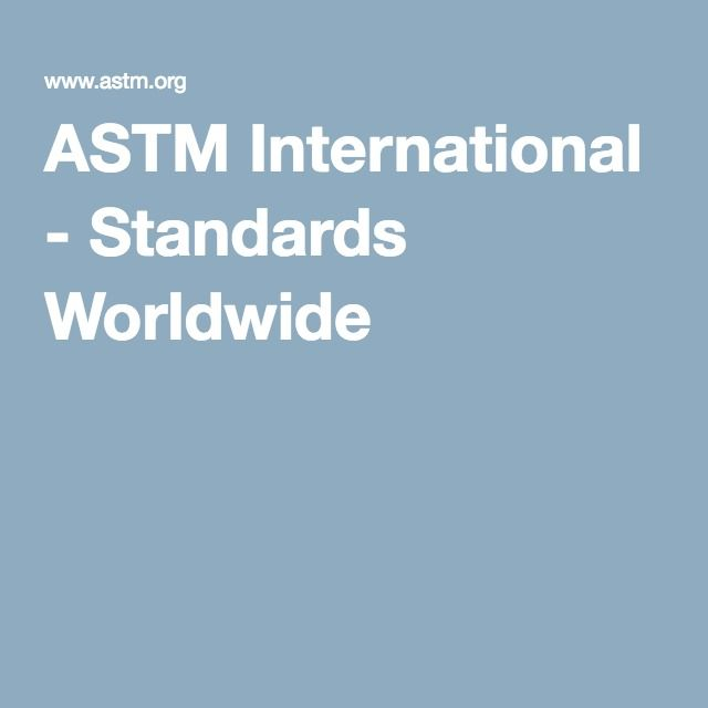 ASTM International - Standards Worldwide-Chemical Passivation