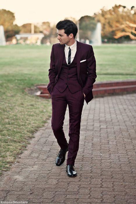 Best 25  Maroon suit ideas on Pinterest | Burgundy suit, Maroon ...