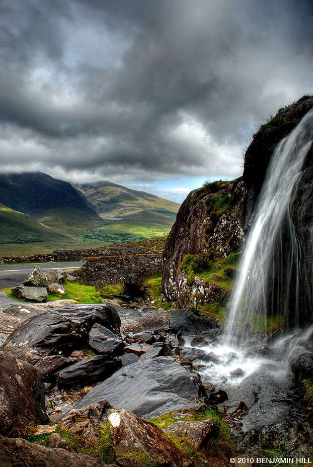 Conor Pass, Dingle, Ireland.