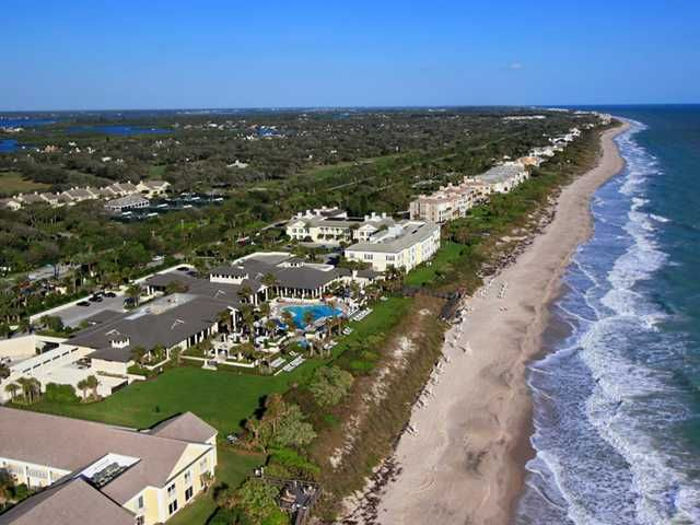 Oceanfront Iniums Nestled Along 3 Miles Of Private Beach In