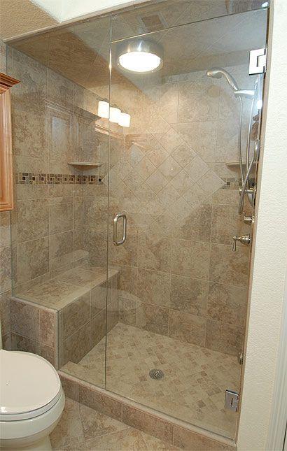 steam walk in shower designs where this steam shower is was originally a run - Shower Designs Ideas
