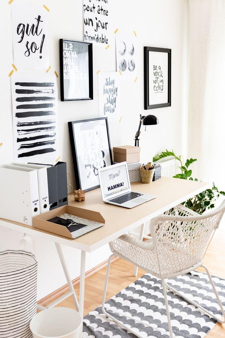 Set Up Small Study Scandinavian And How I Found More Courage To Ich Courage Found Kleines Arbeitszimmer Skandinavisch Einrichten Arbeitszimmer Einrichten
