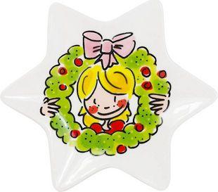 Kerstschaaltje Girl van Blond-Amsterdam - Blond-Amsterdam officiële website