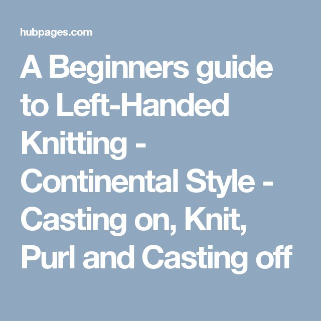 25+ melhores ideias sobre Cast on knitting no Pinterest Projetos de tricO, ...