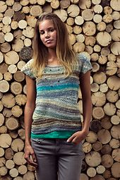 Ravelry: Convergence Top pattern by Linda Skuja