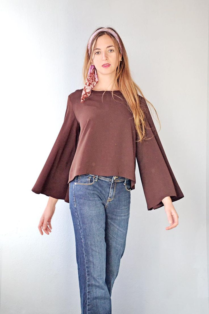 70s Revival Fashion 2015 Badila Official Flare Jeans and Top Fall Winter 15/16