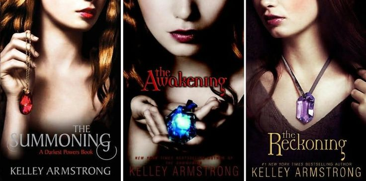 Kelley Armstrong-fabulous Canadian author!! This YA genre series is just as good as her (adult) fiction