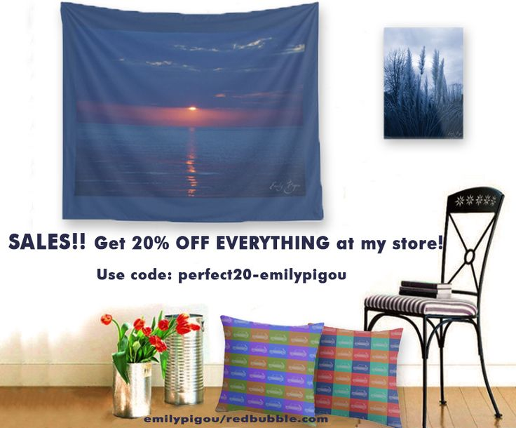 SALES 20! on everything at my store! Use code perfect20-emilypigou #sales #sales20% #discount #thirts# clothing # walltapestry #artprints #wallart #homedecor #pillows #douvet #Iphonecases #stationary #notebooks #journals #womensfashion #mensfashion #giftsforhim #giftsforher#giftsforkids #gamergifts #homegifts #redbubble
