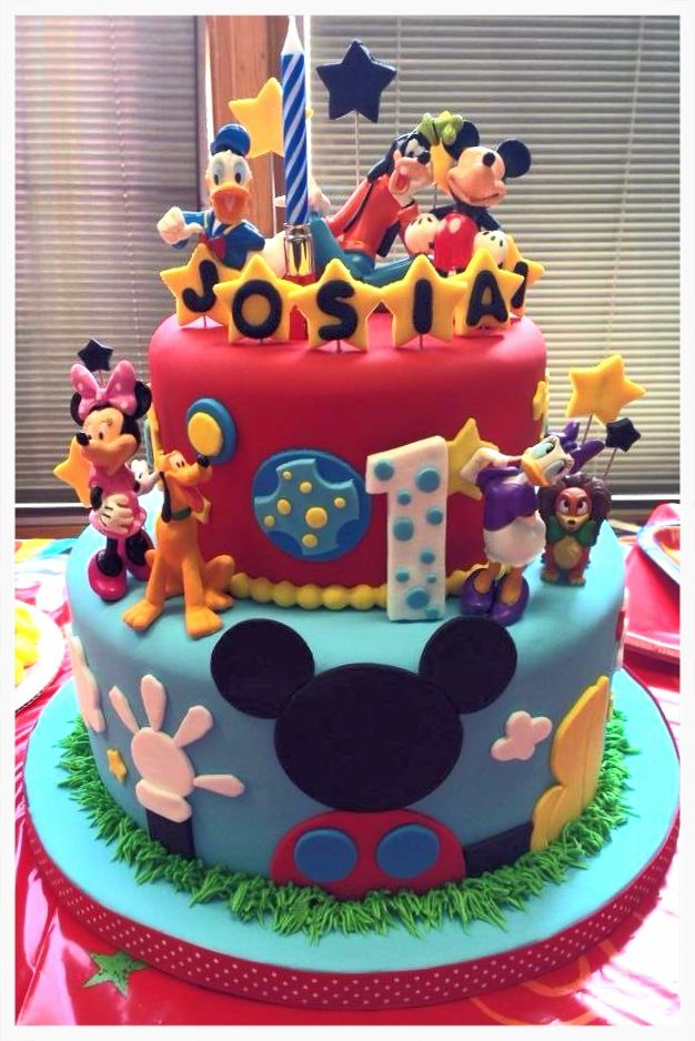 Mickey Mouse Clubhouse Cake Images : Mickey Mouse clubhouse cake Twins 2nd Birthday ...