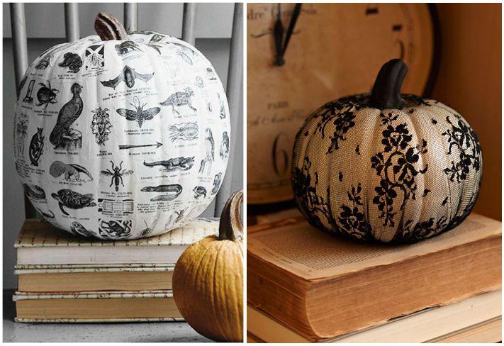No Carve Pumpkin Decor Ideas 4 H Ideas Pinterest