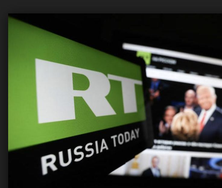 "RT is the Kremlin's propaganda outlet in the United States and around the world. As such, it broadcasts ""news"" (mostly, the fake variety) that advances the"