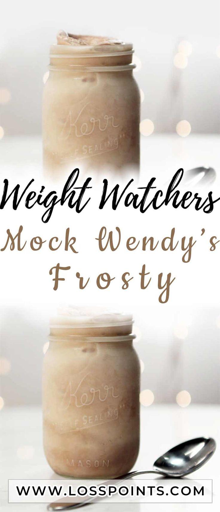 Mock Wendy's Frosty in 2020 Frosty recipe healthy