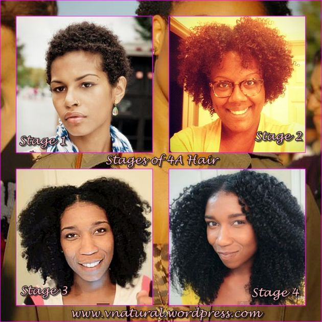 complete stages of 4a hair