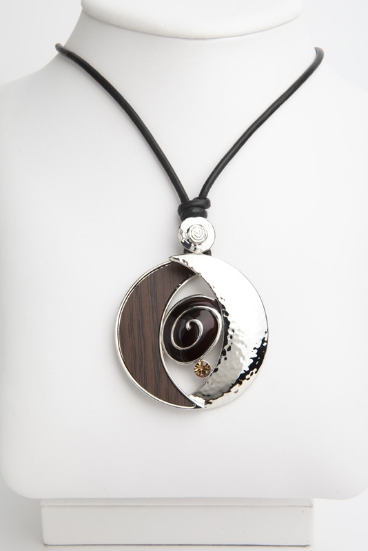 Fiona Brown & Silver Necklace
