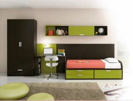 Dormitorios para jovenes varones young man 39 s bedroom for Habitaciones compactas
