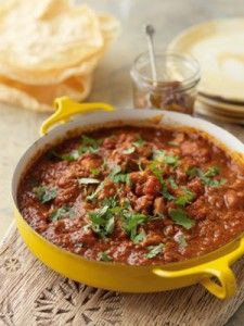 The new cookbook from the Hairy Bikers' has curries from around the world. This bhuna-style is great for when you've got lots of guests.