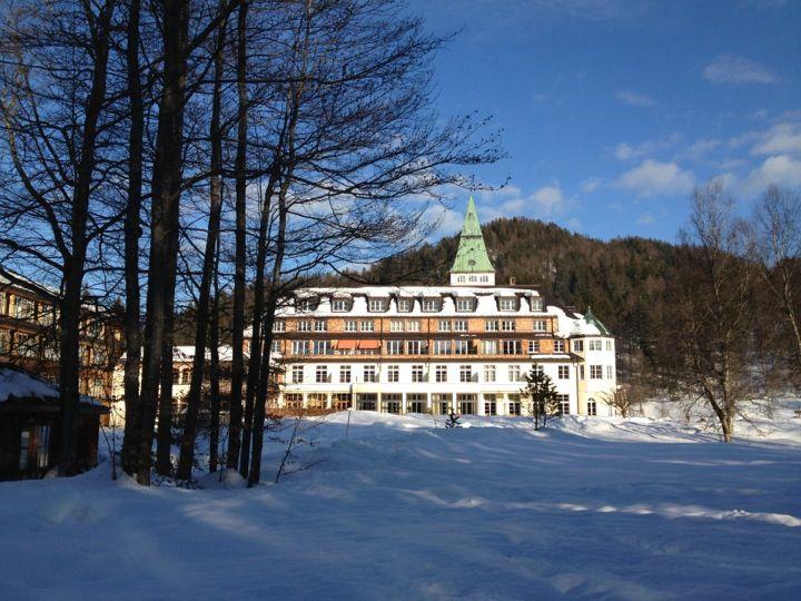 Hotel Schloss Elmau in Elmau, Bayern