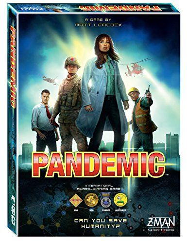 Pandemic Board Game Z-Man Games http://www.amazon.com/dp/B00A2HD40E/ref=cm_sw_r_pi_dp_TKvvwb12G8VED