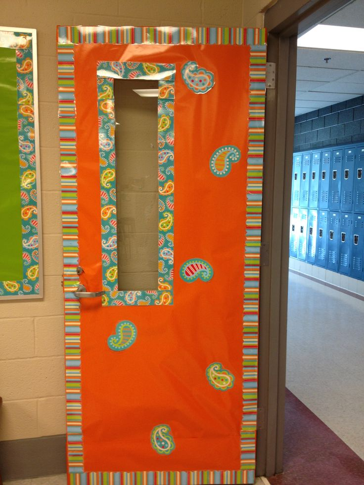 Classroom Decoration Ideas With Paper ~ My middle school classroom door decorations