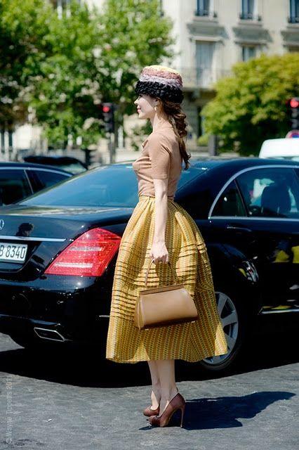 Street Style WIth a Fashion Icon ULYANA SERGEENKO - Fashion Diva Design
