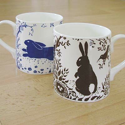 Rabbit mugs