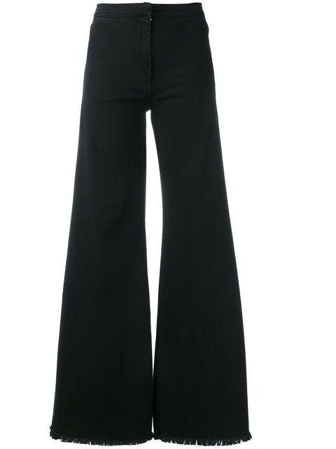 Shop Federica Tosi denim flared jeans.