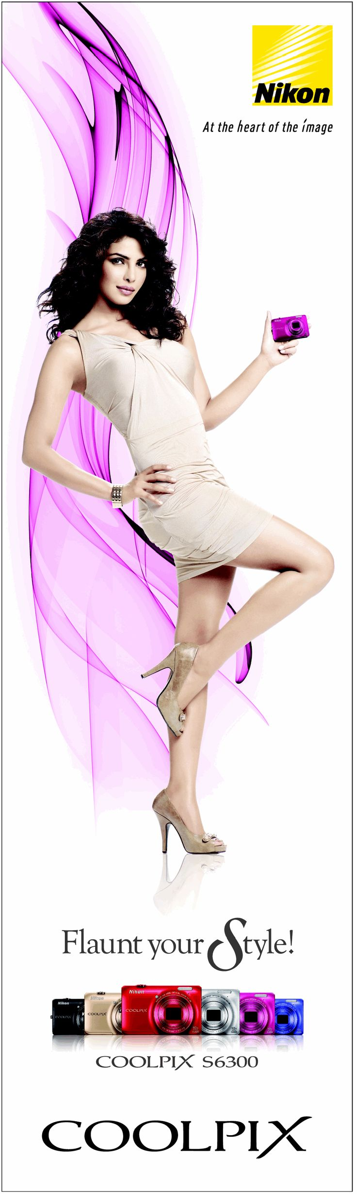Priyanka Chopra in Nikon Ad