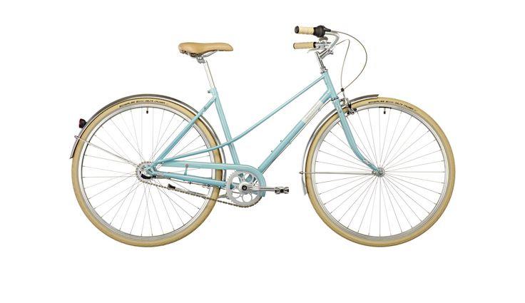 Creme Caferacer Uno Stadsfiets 3-speed turquoise I Voordelig kopen bij Bikester