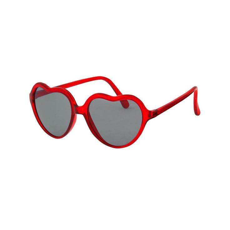 Toddler Girls Candy Red Heart Sunglasses by Gymboree