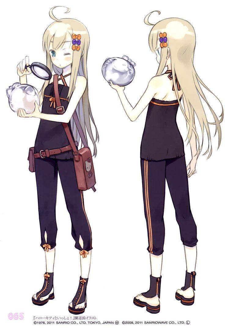 Character Design Zerochan : Kuroboshi kouhaku zerochan character design