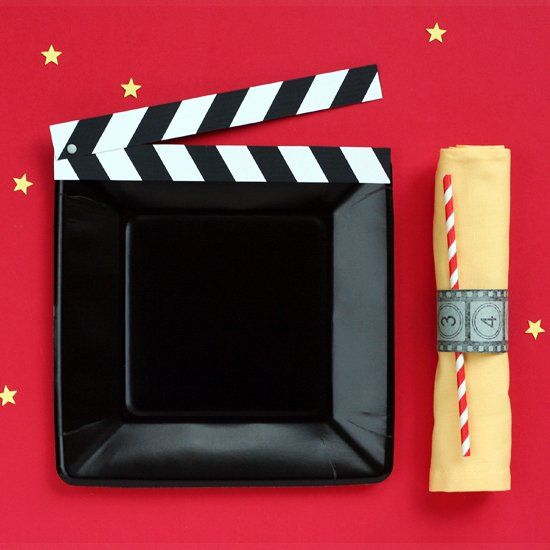 Lots of ideas for crafting up some fun for the Oscars this weekend, or for a movie party for anytime!