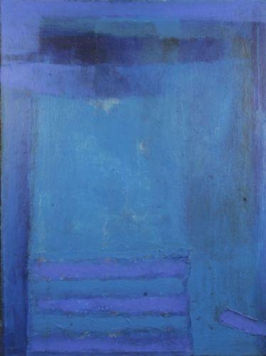 Blue Suspicion - Jacob Dijkstra - Painting